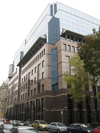 Budapest Stock Exchange - Image: Budapest Szabadsag ter Bank Center 0853