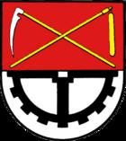Das Wappen von Büdelsdorf