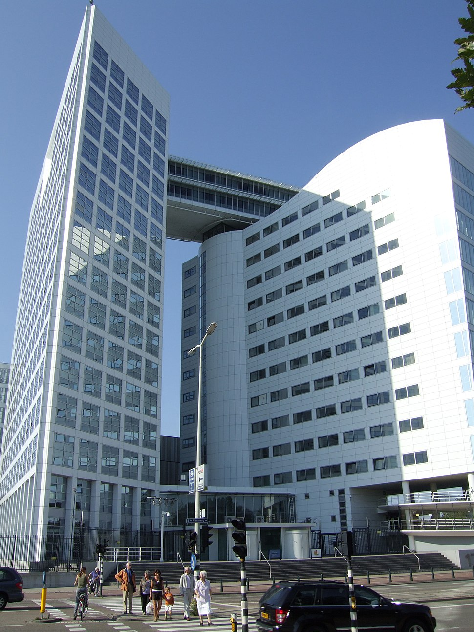Building of the International Criminal Court in The Hague