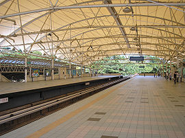 Bukit Jalil station (Sri Petaling Line), Klang Valley (February 2007).jpg