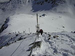 Musala - Image: Bulgaria Rila Musala april 2006