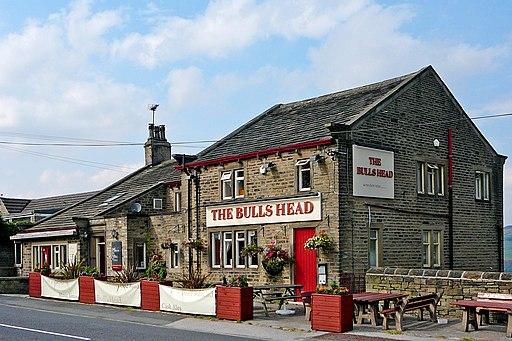 Bull's Head, Blackmoorfoot (4996438893)