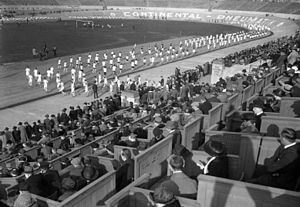 Olympiastadion (Berlin) - Deutsches Stadion in 1923