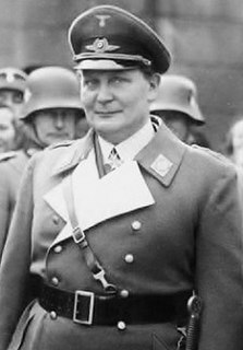 Hermann Göring Nazi German politician and military leader