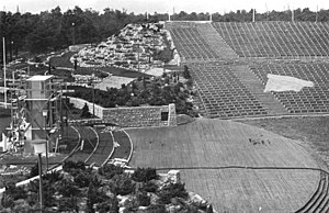 Kindl-Bühne Wuhlheide - The open-air stage in 1951