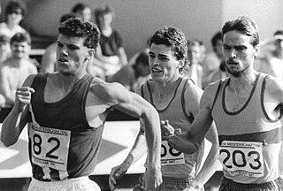 Jens-Peter Herold East German middle-distance runner