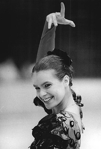 Carmen on Ice - Katarina Witt as Carmen during her free skating in 1988