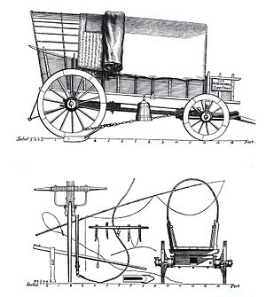 William John Burchell - Wagon commissioned by Burchell for his expedition