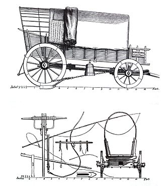 William John Burchell - Wagon commissioned by Burchell for his expedition.