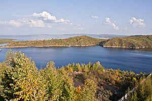 Bureya Dam - Bureya Reservoir