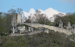 Helfenstein Castle - Ruins of Castle Helfenstein
