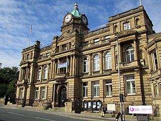 Borough of Burnley Borough in England