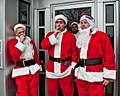 Burnt Out, Bad Santas in Jamian's Bar, Red Bank, New Jersey (4216767073).jpg