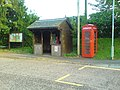 Bus stop and phone box - geograph.org.uk - 919754.jpg