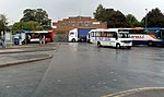 Buses in Abergavenny bus station - geograph.org.uk - 2571630.jpg
