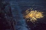 Bushmaster cannon fired by USS Truxtun (DDG-103) in 2013.JPG