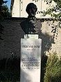 Bust of Béni Egressy by Kristóf Kelemen. - Simontornya.JPG