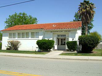 Buttonwillow, California - Buttonwillow Public Library
