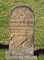 Buzzard (Jacob), Brush Creek Cemetery, 2015-10-26, 01.jpg