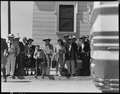 Byron, California. Families of Japanese ancestry, evacuated from Contra Costa County, await bus whi . . . - NARA - 537456.tif