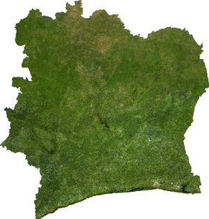 Geography of Ivory Coast