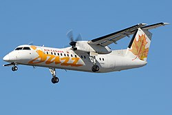 Bombardier Dash 8Q-300 der Jazz Aviation