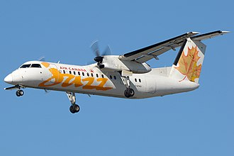 Jazz (airline) - Jazz in Air Canada Jazz livery Dash 8-300
