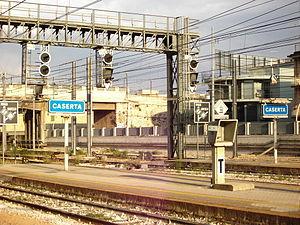 Caserta railway station - Image: CASERTA 9