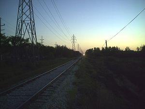 Central Manitoba Railway - Image: CEMR@DUSK