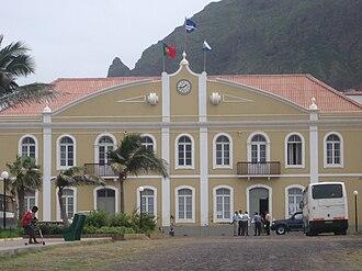 Ribeira Grande, Cape Verde (municipality) - Municipal hall of Ribeira Grande in Ponta do Sol