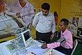 CMRI Health Check-up Stall - Greater Behala Book Fair - Calcutta Blind School Grounds - Kolkata 2015-12-12 7888.JPG