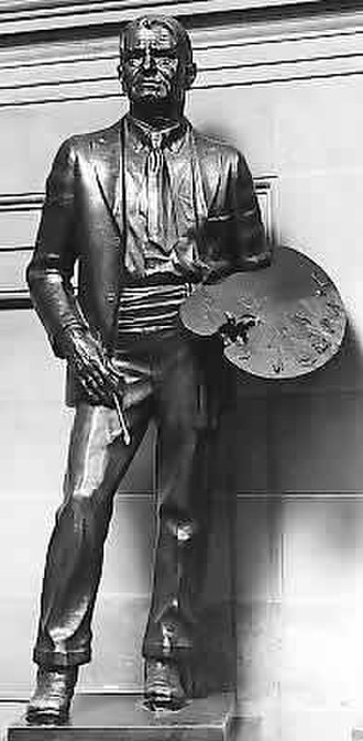 Charles Marion Russell (Weaver) - Sculpture in the National Statuary Hall Collection