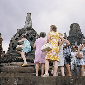 Tourism in Indonesia - Borobudur is the single most visited tourist attraction in Indonesia.