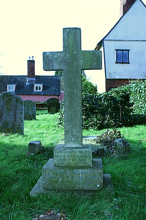 Charles Torlesse - Headstone of Charles Torlesse