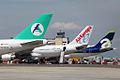 CP-2525 B747-300 Aerosur 3 x tail (4445714469) (2).jpg
