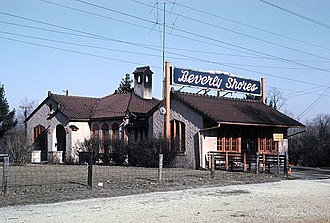 Beverly Shores station - Beverly Shores in 1964