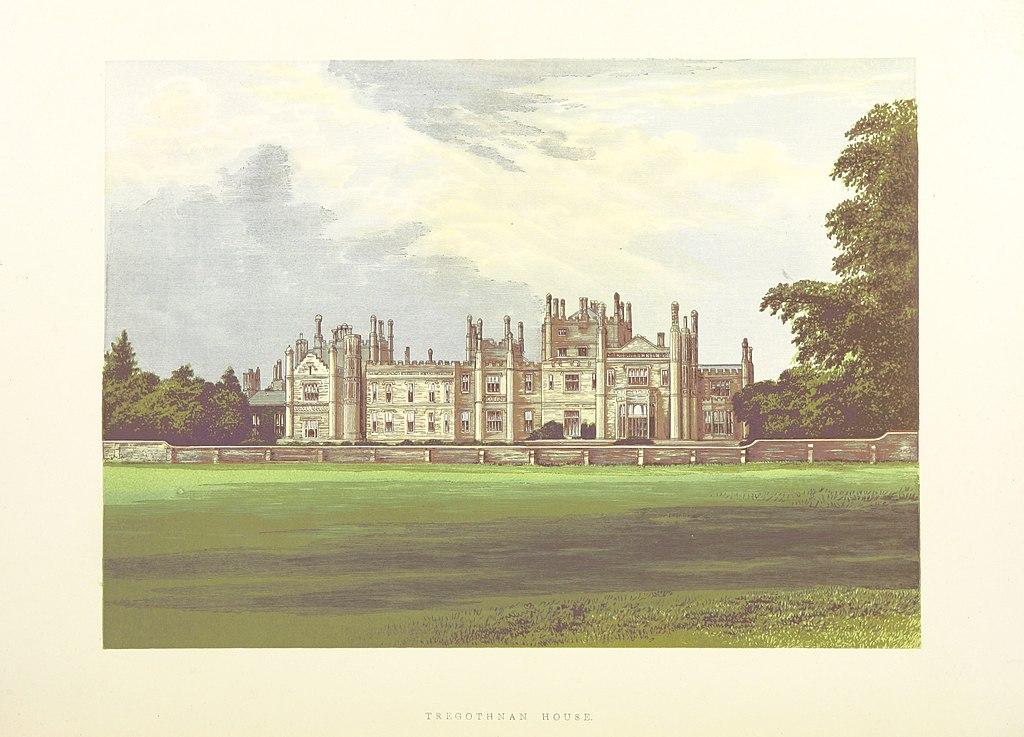 CS p5.400 - Trethgothnan House, Cornwall - Morris's County Seats, 1880