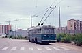 CTP trolleybus 33 at Rione 167 terminus in Secondigliano 1983.jpg