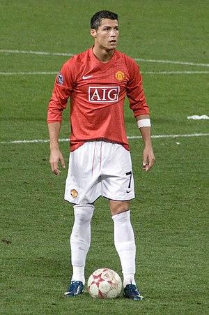 Ballon d'Or 2008 - 2008 Ballon d'Or winner Cristiano Ronaldo.