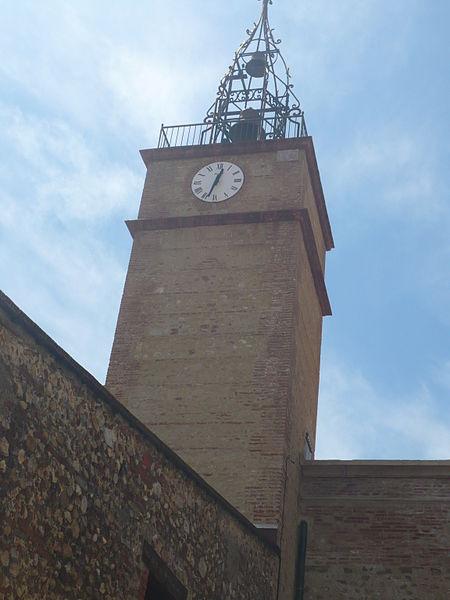 Clocher de l'église Notre-Dame-des-Anges à Cabestany