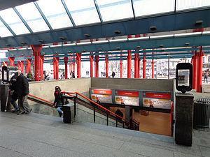 Cadorna (Milan Metro) - Image: Cadorna staz MM scala principale
