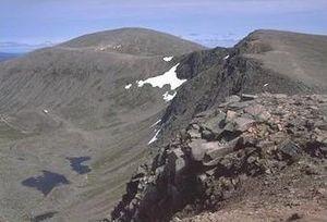 Cairn Gorm - Cairn Gorm from across Coire an t-Sneachda