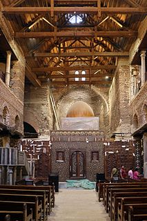Saints Sergius and Bacchus Church (Abu Serga) Church in Coptic Cairo, Egypt