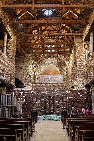 Saints Sergius and Bacchus Church (Abu Serga) - Image: Cairo, chiesa di san sergio 01