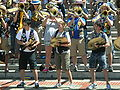 Cal Band at Cal Day 2010 spirit rally 8.JPG