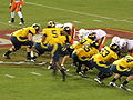 Cal on offense at 2008 Emerald Bowl 09.JPG