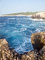 Cala Tramontana da Punta del Vuccolo - Isola di San Domino, Tremiti (FG) Italia - 21 Agosto 2013 - panoramio.jpg