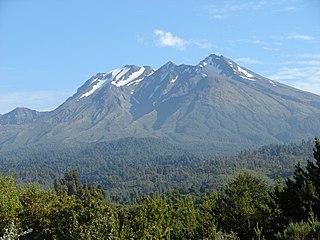 Calbuco (volcano) Volcano near Llanquihue lake, Chile