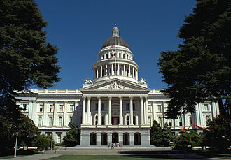 California Historical Landmarks in Sacramento County, California - Image: California State Capitol front 1999