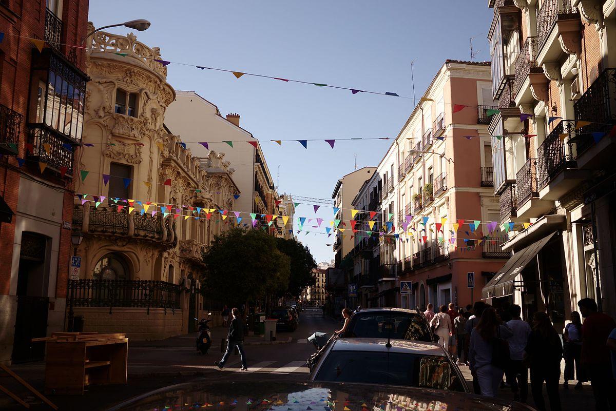 Calle de fernando vi wikipedia la enciclopedia libre Calle belen madrid